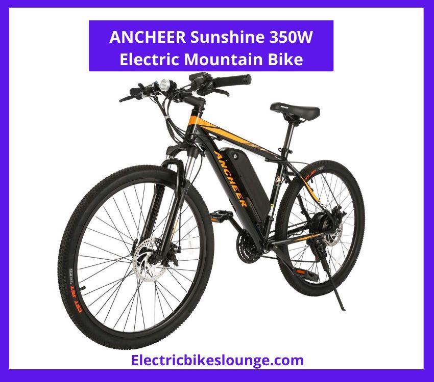 Ancheer Sunshine 350W Electric Mountain Bike