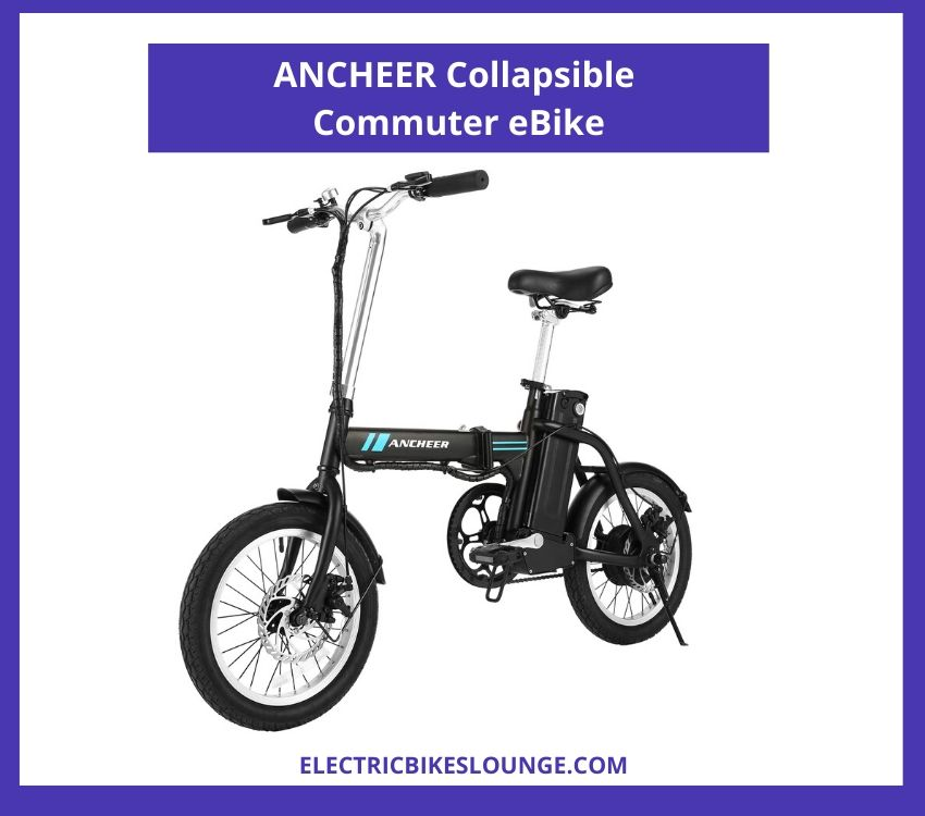 ANCHEER Collapsible Commuter eBike