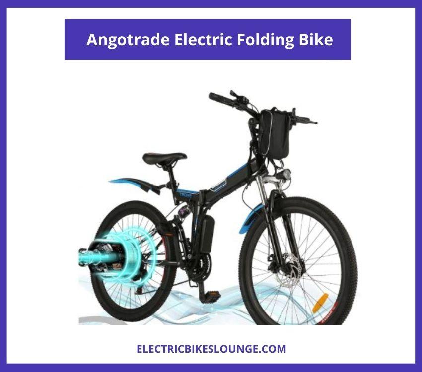 Angotrade Electric Folding Bike