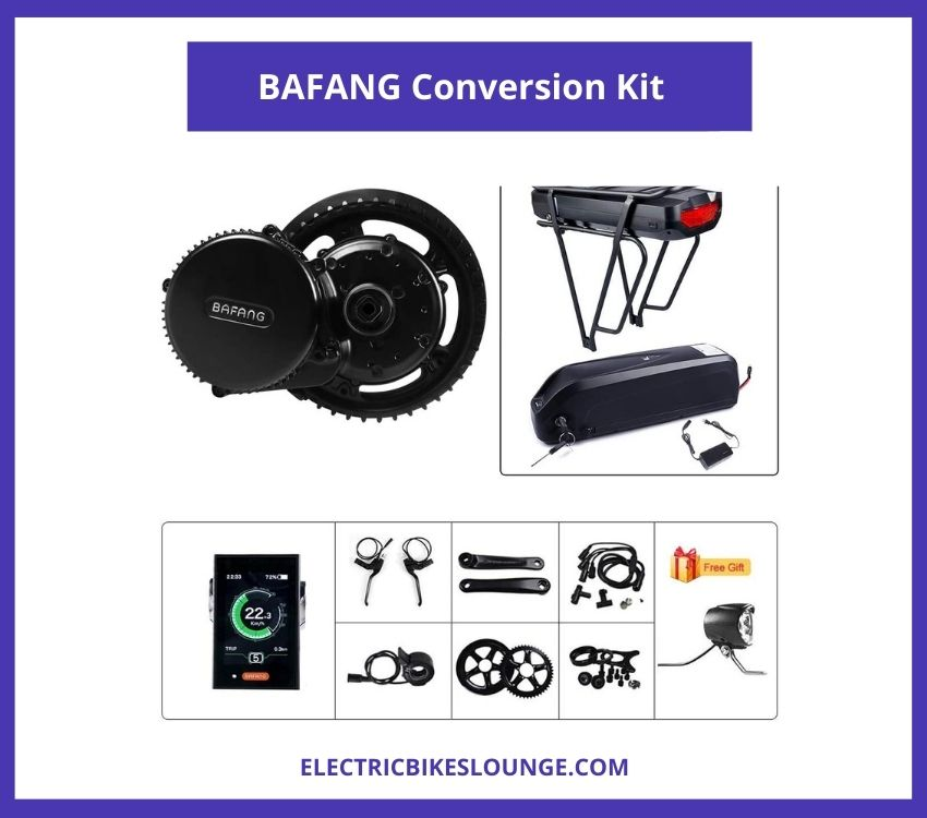 BAFANG Conversion Kit with Battery