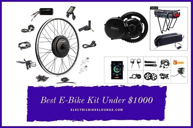 Best E-Bike Kit Under $1000