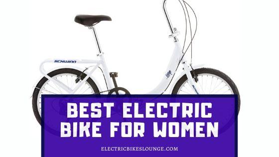 Best Electric Bike for Women