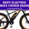 Best Electric Bike under $2000