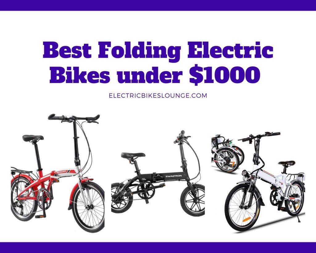 Best Folding Electric Bike under $1000