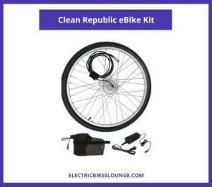 Clean Republic eBike Kit