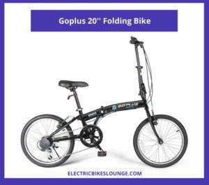 Goplus 20 Folding Bike