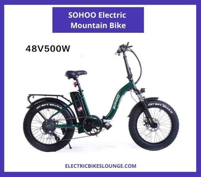 SOHOO Electric Mountain Bike