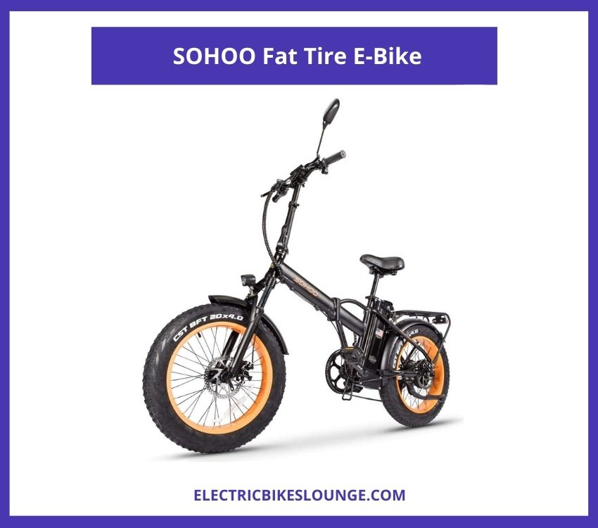 fat tire electric mountain bike