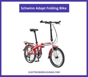 Schwinn Adapt Folding Bike