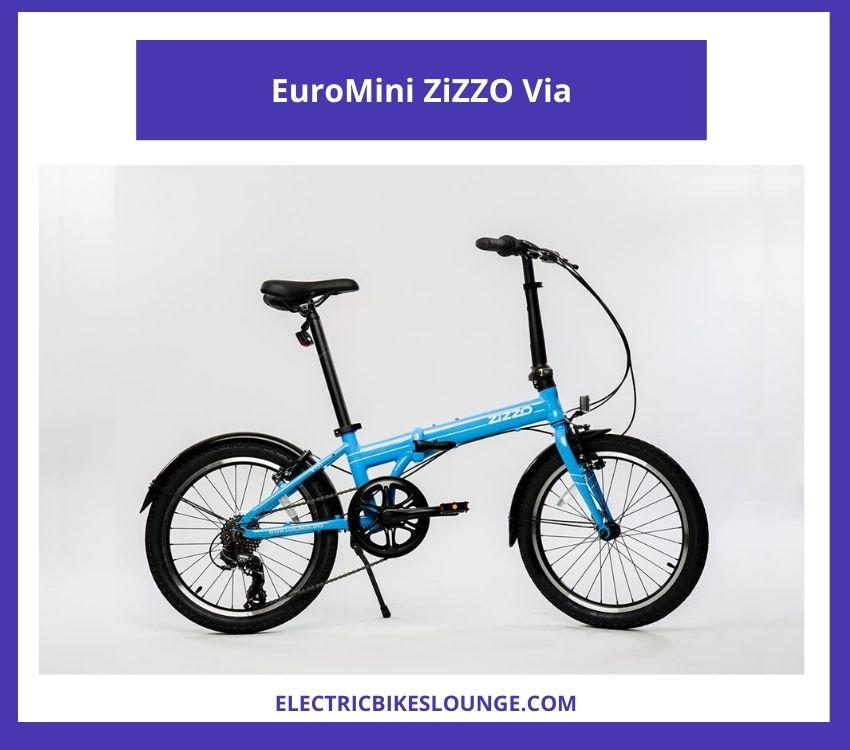 best commuting electric bike EuroMini ZiZZO Via