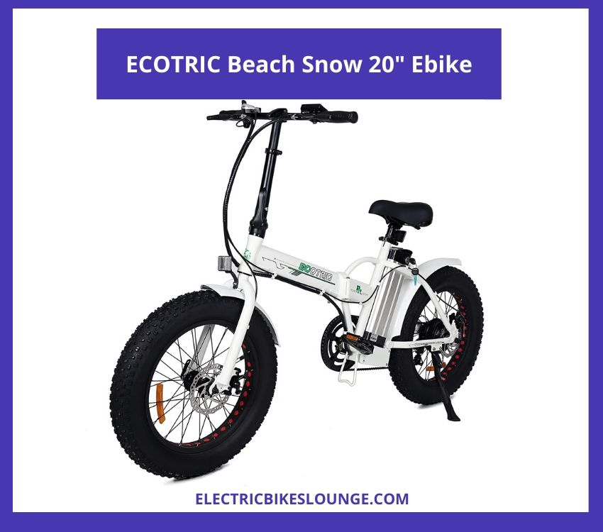 best ebike for commuting ECOTRIC Beach Snow Ebike