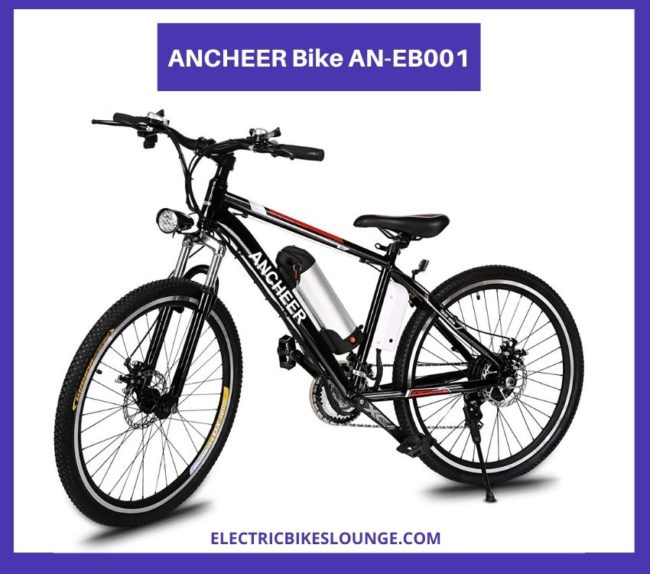 best ebike mountain bike ancheer an-eb001