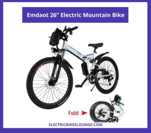 best electric bikes under 500 dollars Emdaot