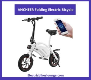 cheap electric bikes under 500 ANCHEER Folding