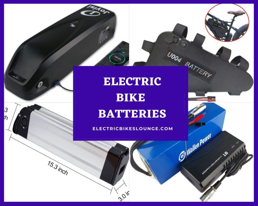 electric bike batteries