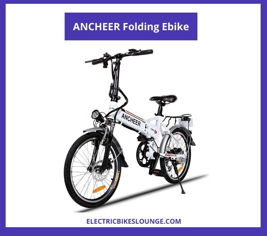 electric foldable bike ANCHEER Folding Ebike
