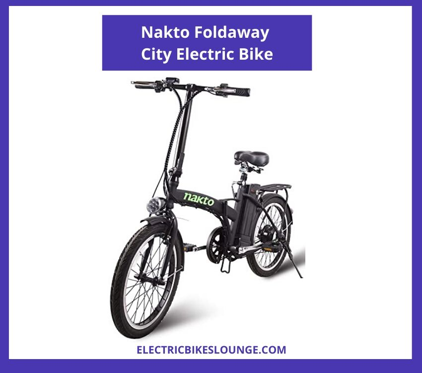 electric folding bicycle Nakto