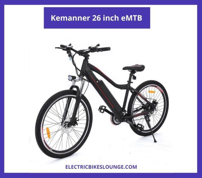 electric mountain bike 2020 kemanner