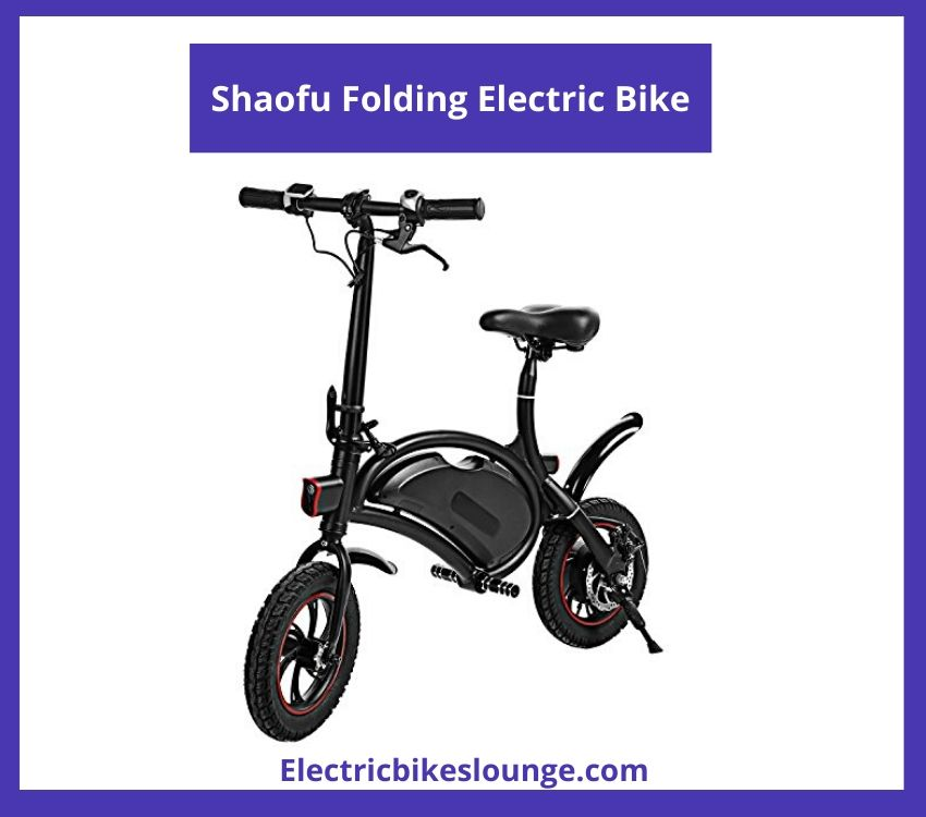 fold up electric bike Shaofu