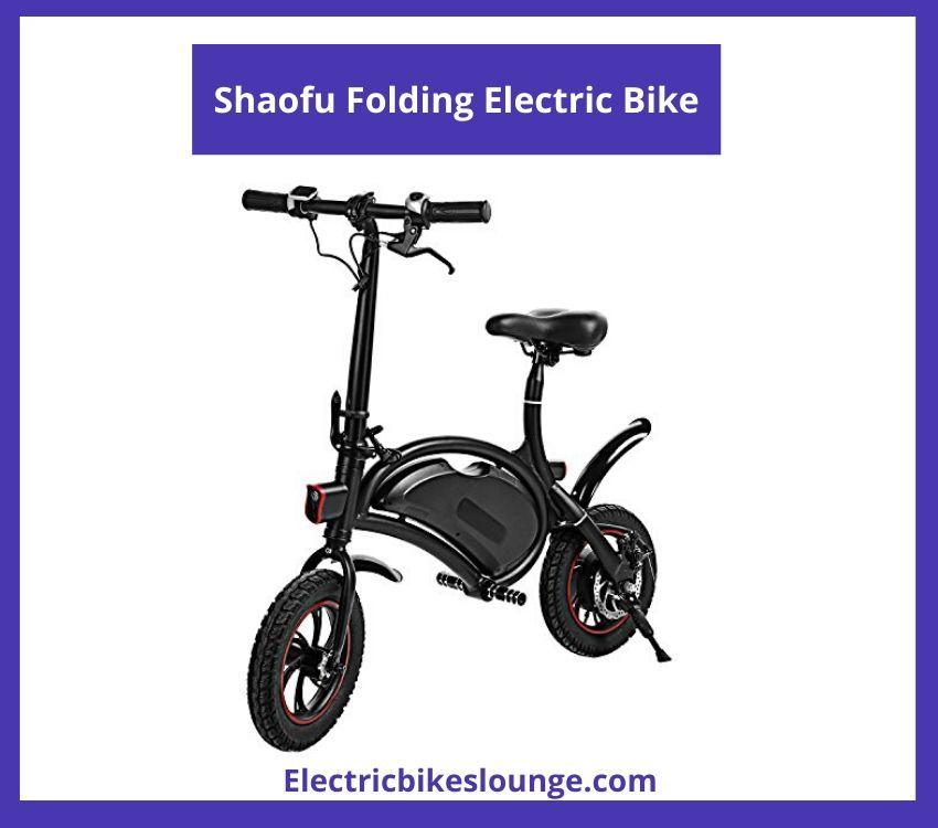 fold up electric bike Shaofu