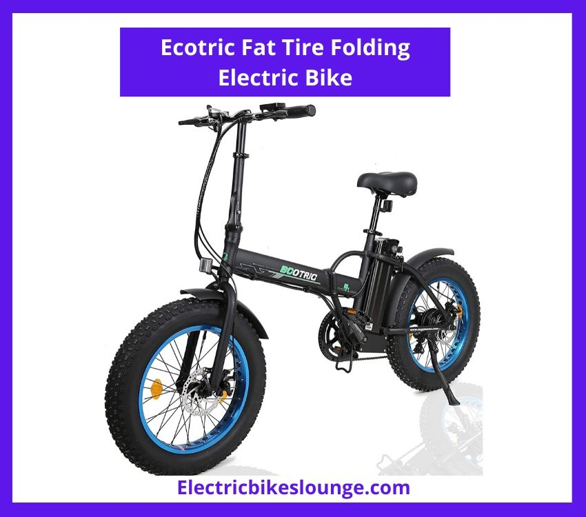 folding ebike Ecotric Fat Tire