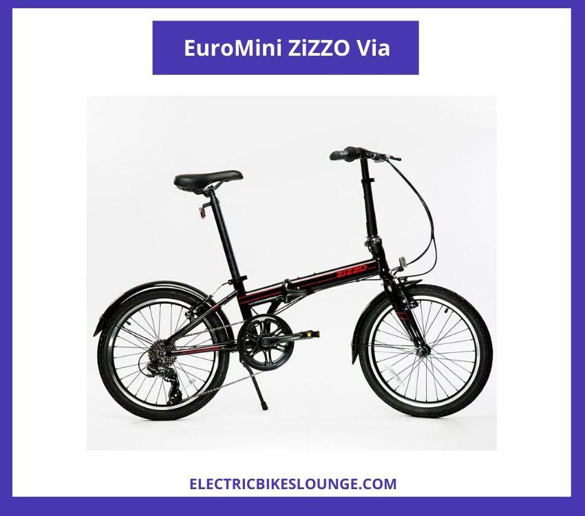 folding electric bicycle EuroMini ZiZZO Via