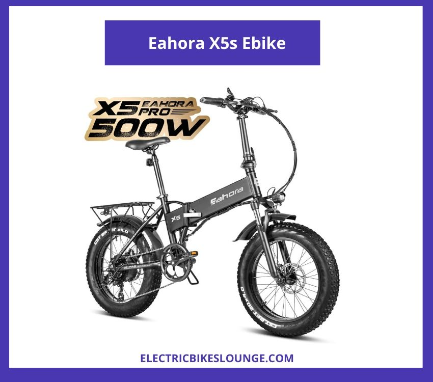 folding electric bike review Eahora X5s Ebike