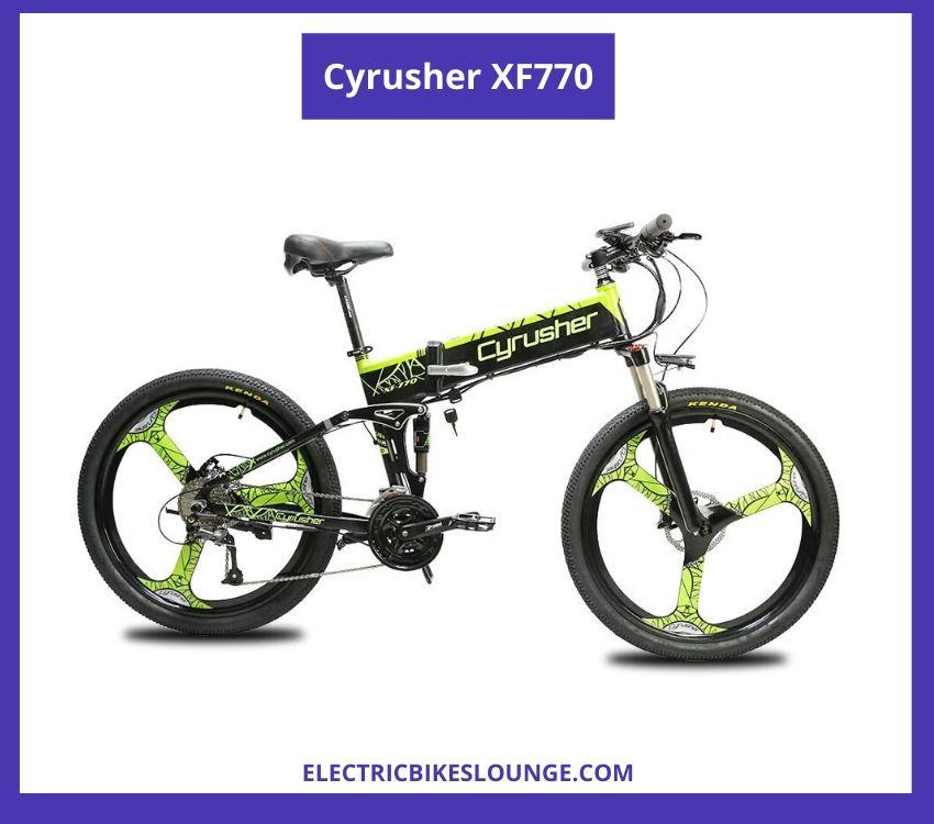 portable electric bike Cyrusher XF770